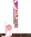Bosco Bear - Fairy Height Chart Wall Sticker