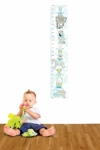 Bosco Bear - Nursery toys Growth Chart Sticker