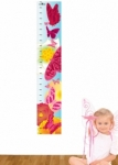 Bosco Bear - Butterfly Height Chart Wall Sticker