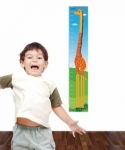 Bosco Bear - Giraffe Height Chart Wall Sticker
