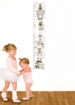 Bosco Bear - Nursery toys growth chart neutral