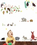 Bosco Bear - Wall Stickers Australian Animals