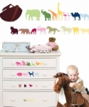 Bosco Bear - Noahs Ark Wall Stickers
