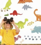 Bosco Bear - Dinosaur  Wall Stickers
