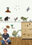Bosco Bear - Jurassic X  Wall Stickers