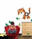 Bosco Bear - Jungle Fever Tiger Clock