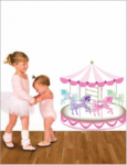 Bosco Bear - Carousel Wall Stickers