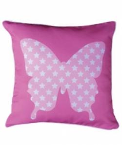 Bosco Bear - Butterfly Star Cushion 34 x 34cm