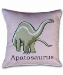 Bosco Bear - Dinosaurs Apatosaurus cushion 34x34cm