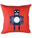 Bosco Bear - Black Robot Cushion 34 x 34cm