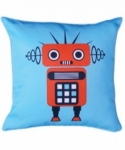 Bosco Bear - Red Robot Cushion 45 x 45cm
