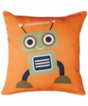 Bosco Bear - Robot Orange & Black 45 x 45cm