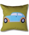 Bosco Bear - Retro Adventure Beetle cushion 45 x 45cm