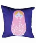 Bosco Bear - Russian Doll Pink  45x45cm