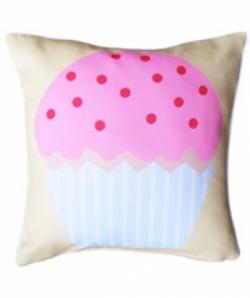 Bosco Bear - Cupcake Cushion 45x45cm