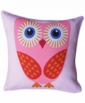 Bosco Bear - Orange Wing Owl Cushion 45x45cm