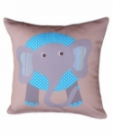 Bosco Bear - Jungle Animals Elephant Cushion 45 x 45cm