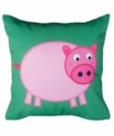 Bosco Bear - Farmyard Pig Cushion 45x45cm