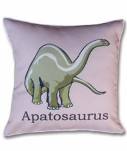 Bosco Bear - Dinosaurs Apatosaurus cushion 45x45cm