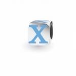 My Little Angel - Blue Letter X