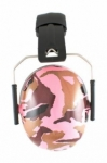 Baby Banz - Ear Muffs Camo Pink