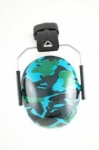 Baby Banz - Ear Muffs Camo Blue