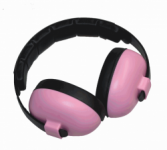 Baby Banz - Pink Baby Earmuffs for 3 months +