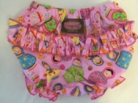 Vintage Kid - Babushka Doll Ruffle Pants