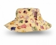 Vintage Kid - Paper Doll hat in yellow