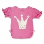 Vintage Kid - Ruby Rosebud T shirt Crown