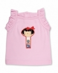 Vintage Kid - Yui Kosheshi Light Pink Singlet