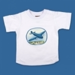 Vintage Kid - Blue Plane T Shirt