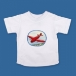 Vintage Kid _ red Plane T shirt