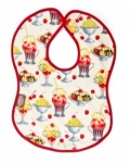 Vintage Kid - Ice Cream Sundaes Bib