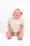 Vintage Kid- Ruby Rosebud Bib