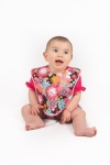 Vintage Kid  - Peace Flower Bib