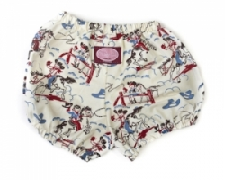Vintage Kid - Retro Rodeo Nappy Cover (No Ruffle)
