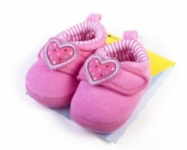 Goldbug- Marshmellow Heart  Soft Soled Slippers