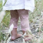Baby Bella Maya Leggings - Pink Lacy