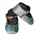 Baby Bella Maya Shoes - Ocean Mist