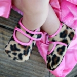 Baby Bella Maya Shoes - Lollipop Leopard
