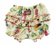 Vintage Kid- China Doll Ruffle Pants