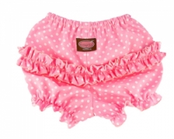 Vintage Kid  - Pink Dot Ruffle Pants
