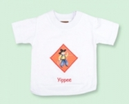 Vintage Kid - Yippe White T Shirt
