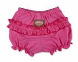 Vintage Kid- Pink Ruffle Pants