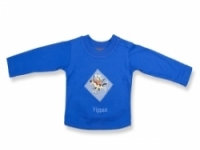 Vintage Kid- Yippee Long Sleeve T Shirt in blue