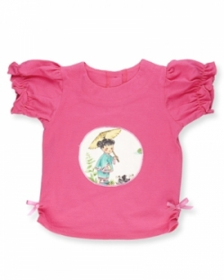 Vintage Kid- China Doll Ruffle T Shirt